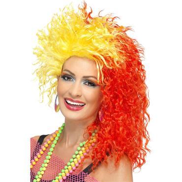 80's Fun Girl Crimp Wig - Pride
