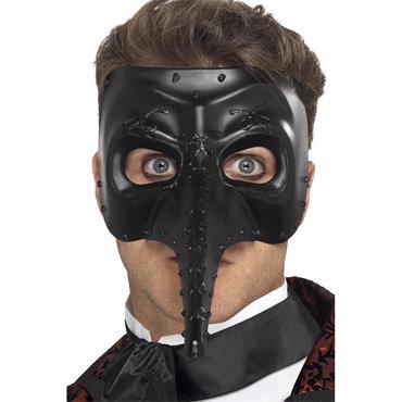 Venetian Gothic Capitano Mask