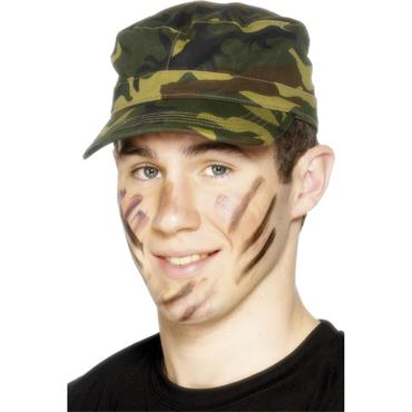 ARMY CAP SMALL PEAK CAMOUFLAGE