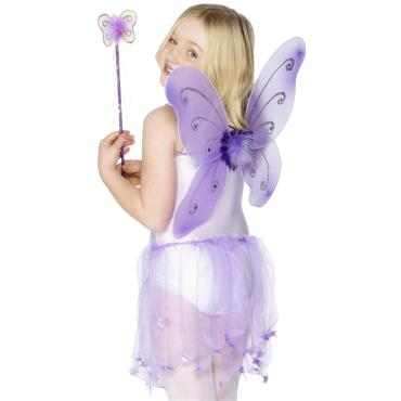 Butterfly Wings & Wand, Purple