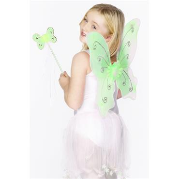 Butterfly Flower Wings - Green
