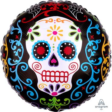 Day Of The Dead Pattern 18""