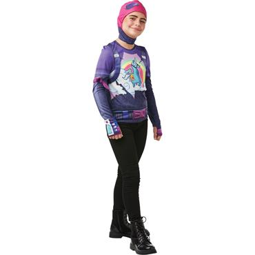 Tween Brite Bomber Top & Snood