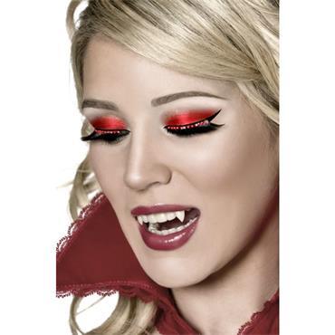 Eyelashes, Dramatic Red Crystal
