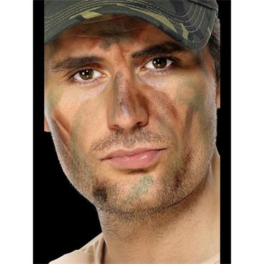 Army Make-Up - 3 colour