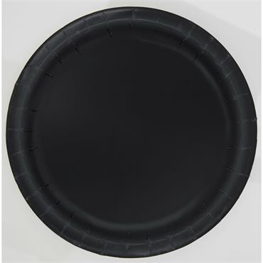 "Black 9"" Plates"
