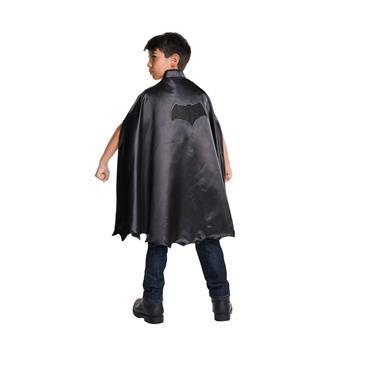 Childs Superhero Fancy Dress Kit Cape /& Mask Black Kids Cloak New w