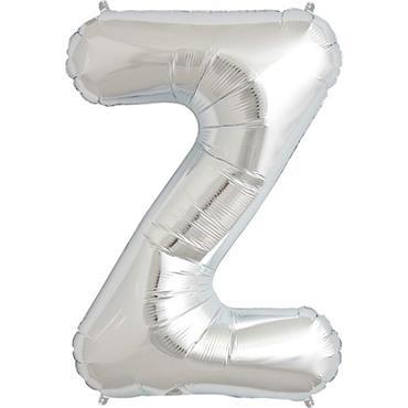 "34"" Silver Letter Z Balloon"