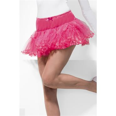 Tulle Petticoat, Hot Pink