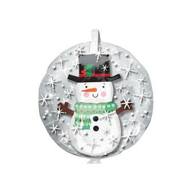 """24"""" Snowman Insider Shape Foil Balloon"""
