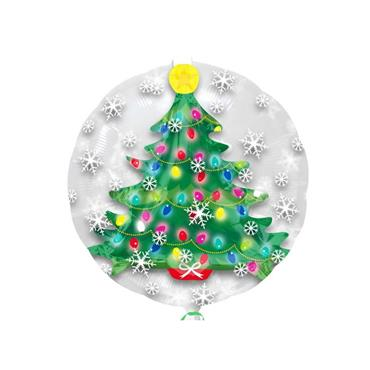 "24"" Christmas Tree Insider Shape Balloon"