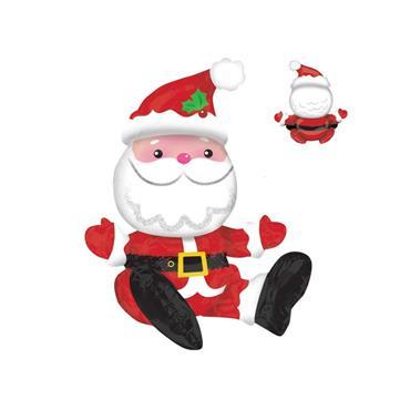 "21"" Sitting Santa Foil Balloon"