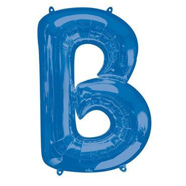 "34"" Blue Letter B Balloon"