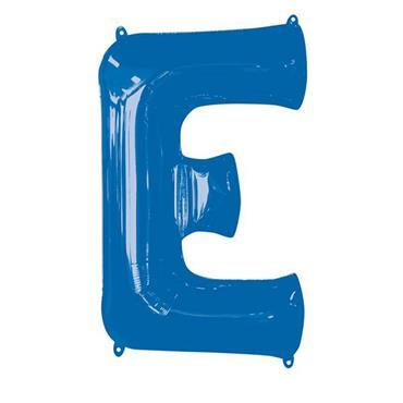 "34"" Blue Letter E Balloon"