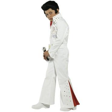 Elvis Costume - White - Child Costume