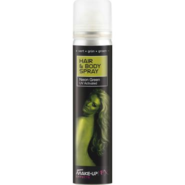 Hair and Body Spray, Green UV