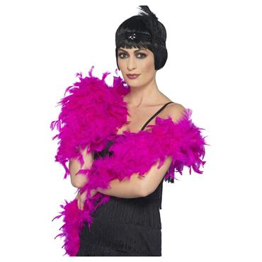 Deluxe Feather Boa - Fuchsia