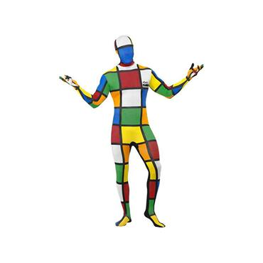 Rubik's Cube Second Skin Costume/Pride