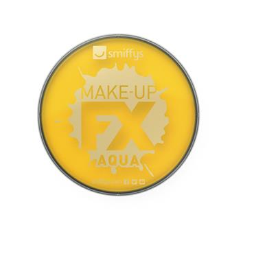 Make-Up Fx, Aqua Face and Body Paint, Bright Yellow