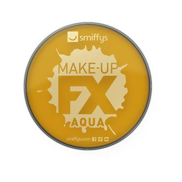Make-Up Fx, Aqua Face and Body Paint, Gold Metallic