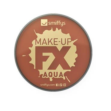Make-Up Fx, Aqua Face and Body Paint, Light Brown