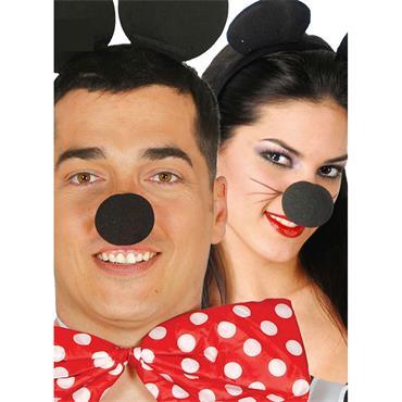 Black Foam Rubber Nose