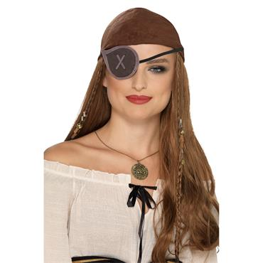 Pirate Eyepatch,  Grey