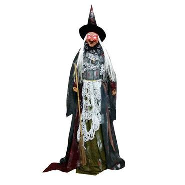Animated Standing Witch 150cm