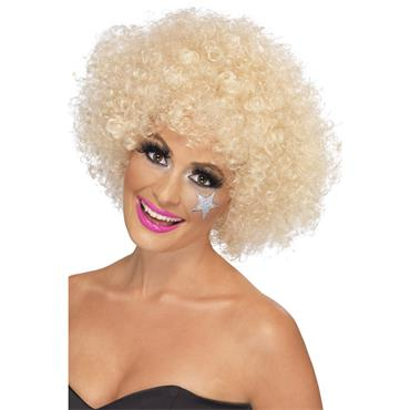 70'S Funky Afro Wig, Blonde