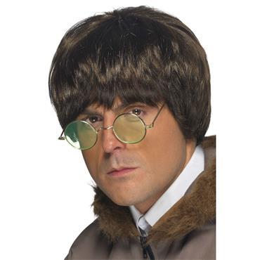 Brown Britpop Wig