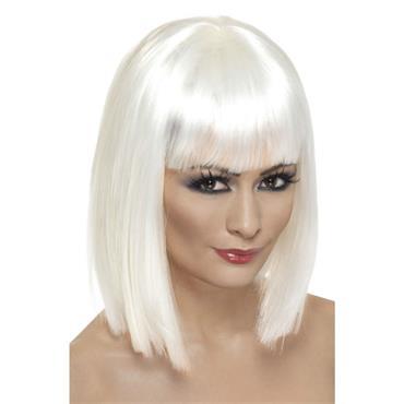 Glam Wig ,White