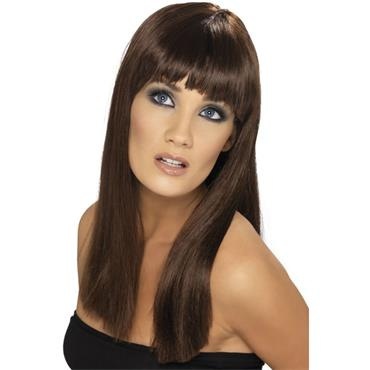 Glamourama Wig - Brown