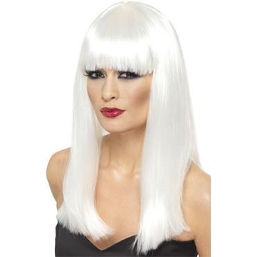 Glamourama Wig ,White