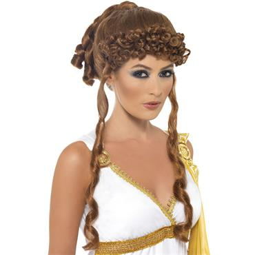 Helen of Troy Wig Brown