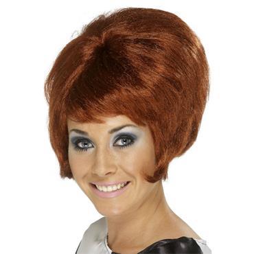 60's Beehive Wig, Auburn