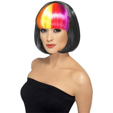 Partyrama Wig, 12 Inch, Black - Pride