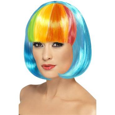 Partyrama Wig, 12 Inch - Pride