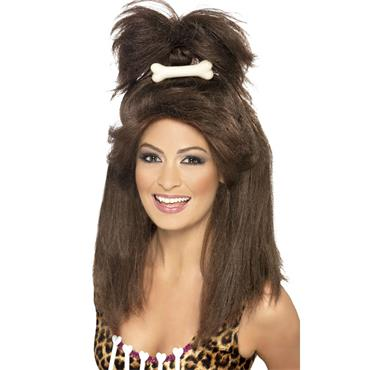 Crazy Cavewoman Wig Brown