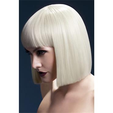 Fever Lola Wig Short Blunt Cut Blonde