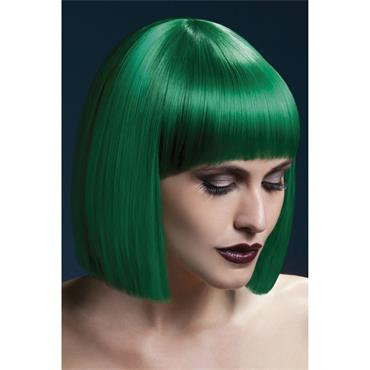 Fever Lola Wig Green Blunt Cut