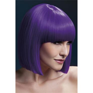 Fever Lola Wig Purple Blunt