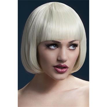 Fever Mia Wig Short Blunt Cut - Blonde
