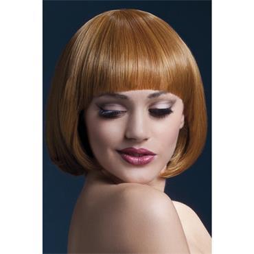 Fever Mia Wig Short Blunt Cut - Auburn
