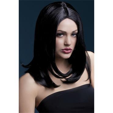 Fever Sophia Wig Black Long