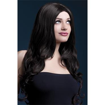 Fever Rhianne Wig Brown Long