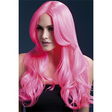 Fever Khloe Wig - Neon Pink Long