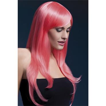 Fever Sienna Wig  - Pastel Coral 2 Tone