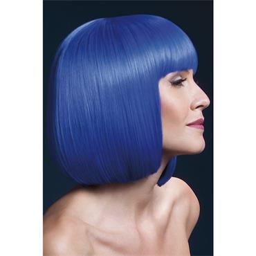 Fever Elise Wig Short w/fringe - Neon Blue