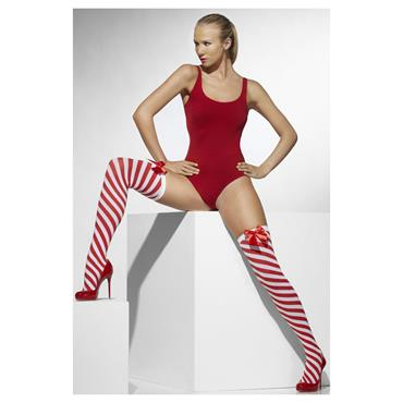 Opaque Hold Ups, Red & White