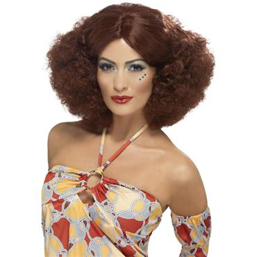 70's Afro Wig, Auburn